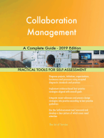 Collaboration Management A Complete Guide - 2019 Edition