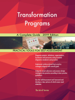 Transformation Programs A Complete Guide - 2019 Edition