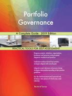 Portfolio Governance A Complete Guide - 2019 Edition