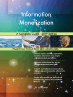 Information Monetization A Complete Guide - 2019 Edition