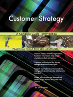 Customer Strategy A Complete Guide - 2019 Edition