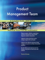 Product Management Team A Complete Guide - 2019 Edition