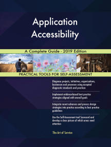 Application Accessibility A Complete Guide - 2019 Edition