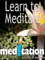 Class 34 - Hypnosis, Affirmations & Meditation (UPDATED 30 DEC 2008)
