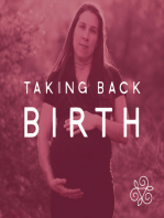 Walking Between the Worlds At the End of Pregnancy