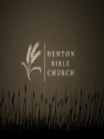 12/16/2012 - The Doctrine of Bibliology - II. Revelation - What The New Says About The Old