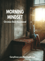 10-26-18 Morning Mindset Christian Daily Devotional