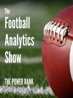 Market rankings for college football and NFL
