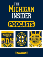 Podcast 04-04-19 (Michigan basketball reflection, spring football updates and discussion)
