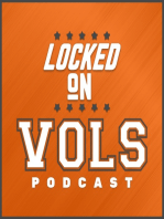 A reminder of the rebuilding job within Tennessee's football program