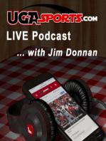 UGASports LIVE, Episode 582 with Jim Donnan