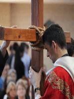 April 15, 2018-10 AM Mass at OLGC-Deacon Mitchell