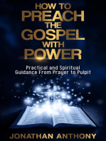 How to Preach the Gospel With Power