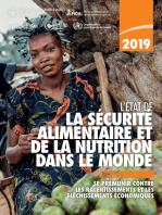 L'État de la sécurité alimentaire et de la nutrition dans le monde 2019