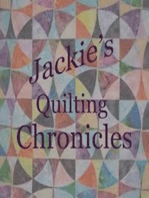 Jackie's Quilting Chronicles Episode 33