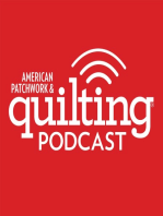 8-14-17Kristyne Czepuryk, Christopher Thompson, Emily Breclaw & Janet Clare Chat with Pat on Pat Sloan's Talk show for American Patchwork and Quilting Radio