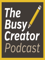 Web Agency Owner Matt Inglot Talks Client Selection, Workflow, and The Challenges of Working from Home - The Busy Creator Podcast 74