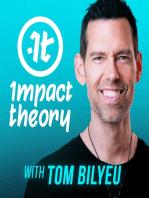 """Desire is a Buildable Muscle"" | Tom Bilyeu AMA"