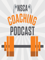 NSCA's Coaching Podcast, Episode 13