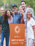 OPTAVIA Habits of Health - Freedom From Obesity 4.10.19