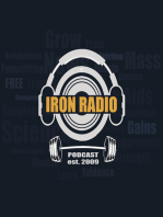 Episode 372 IronRadio - Topic What's In Your Supplement Cabinet?