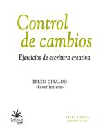 Control de cambios: Ejercicios de escritura creativa