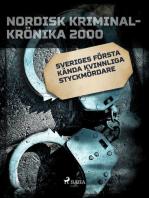 Sveriges första kända kvinnliga styckmördare