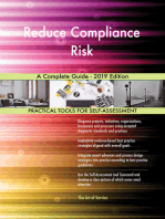 Reduce Compliance Risk A Complete Guide - 2019 Edition