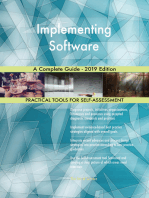 Implementing Software A Complete Guide - 2019 Edition