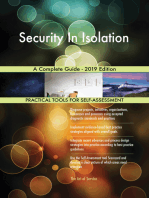 Security In Isolation A Complete Guide - 2019 Edition