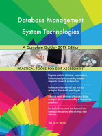 Database Management System Technologies A Complete Guide - 2019 Edition