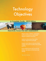Technology Objectives A Complete Guide - 2019 Edition