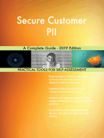 Secure Customer PII A Complete Guide - 2019 Edition