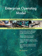 Enterprise Operating Model A Complete Guide - 2019 Edition