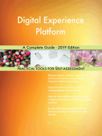 Digital Experience Platform A Complete Guide - 2019 Edition