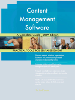Content Management Software A Complete Guide - 2019 Edition