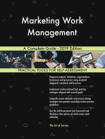 Marketing Work Management A Complete Guide - 2019 Edition