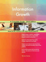 Information Growth A Complete Guide - 2019 Edition