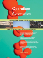 Operations Automation A Complete Guide - 2019 Edition