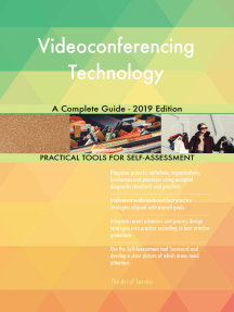 Videoconferencing Technology A Complete Guide - 2019 Edition