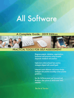 All Software A Complete Guide - 2019 Edition