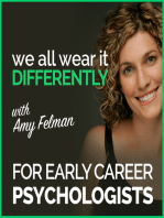 #50 – Early Career Psychologist Series, Chapter 3 – Ceara Rickard