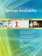 Services Availability A Complete Guide - 2019 Edition