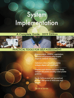 System Implementation A Complete Guide - 2019 Edition