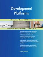 Development Platforms A Complete Guide - 2019 Edition
