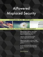 AIPowered Misplaced Security A Complete Guide - 2019 Edition