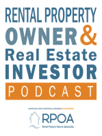 EP115 Profiting from airbnb & Vacation Rentals - RPOA Expert Panel