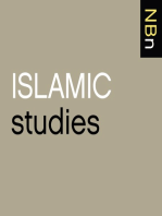 "Isra Yazicioglu, ""Understanding Qur'anic Miracle Stories in the Modern Age"" (Penn State UP, 2013)"