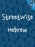 #102 Crazy Hebrew for crazy days