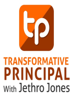 Three Fundamentals for Change with Bob Sonju Transformative Principal 031
